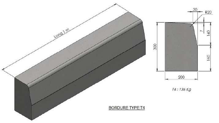 fibrociment bordures de trottoir en b ton. Black Bedroom Furniture Sets. Home Design Ideas